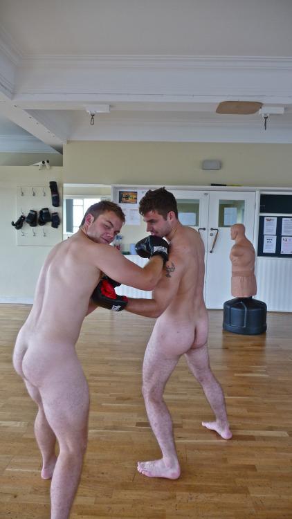 boxeurs nus