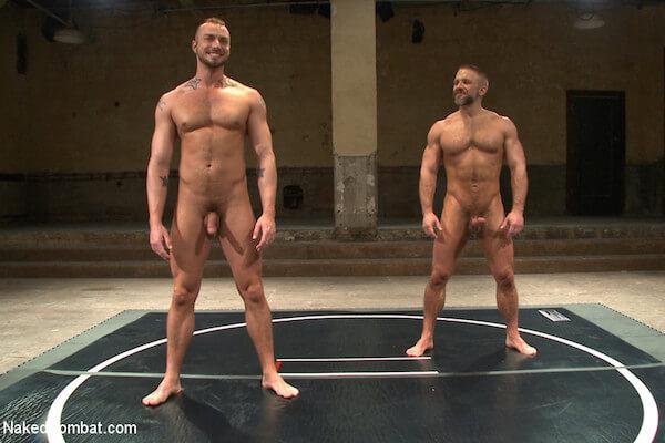 lutteurs gays nus