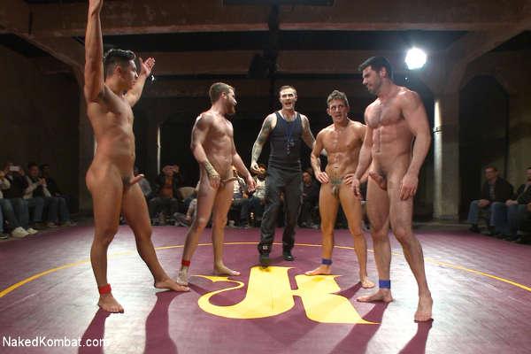 Lutte Nu pour les amateurs de combats et corps corps nus