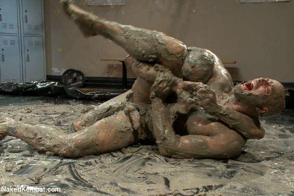 That naked men mud wrestling